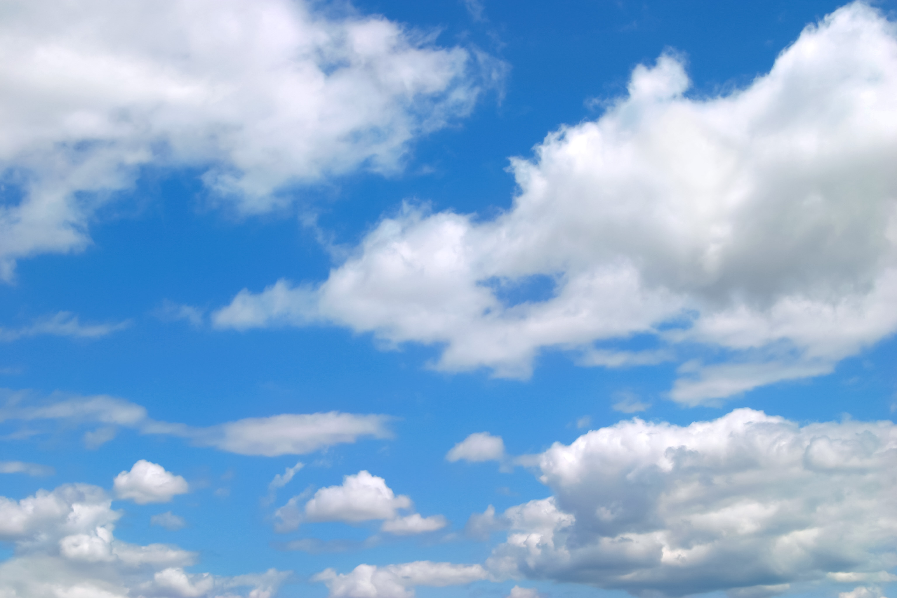 果てしなく青い空 Free Photos L/RGB/JPEG/350dpi