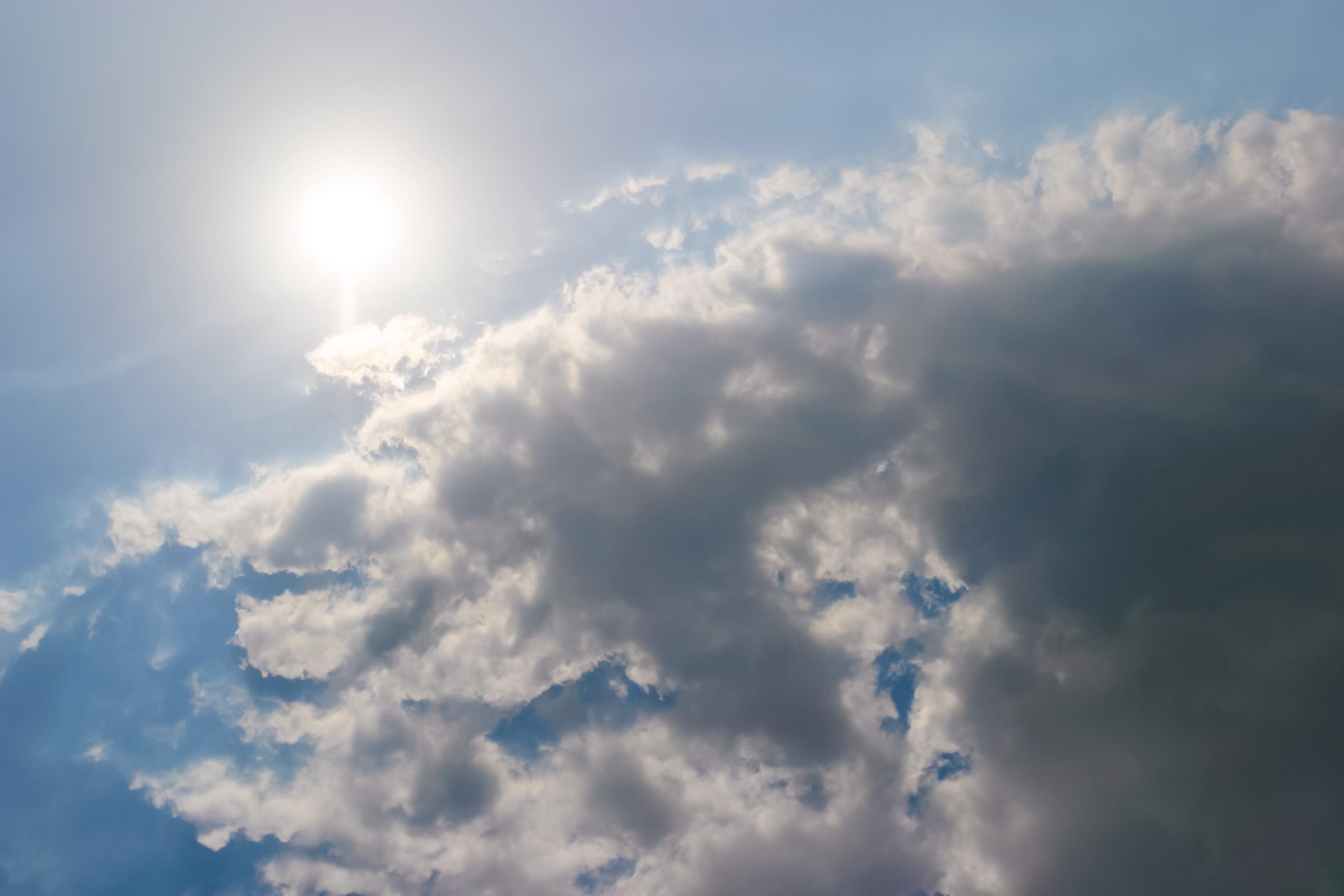 眩しい太陽 Free Photos L/RGB/JPEG/350dpi