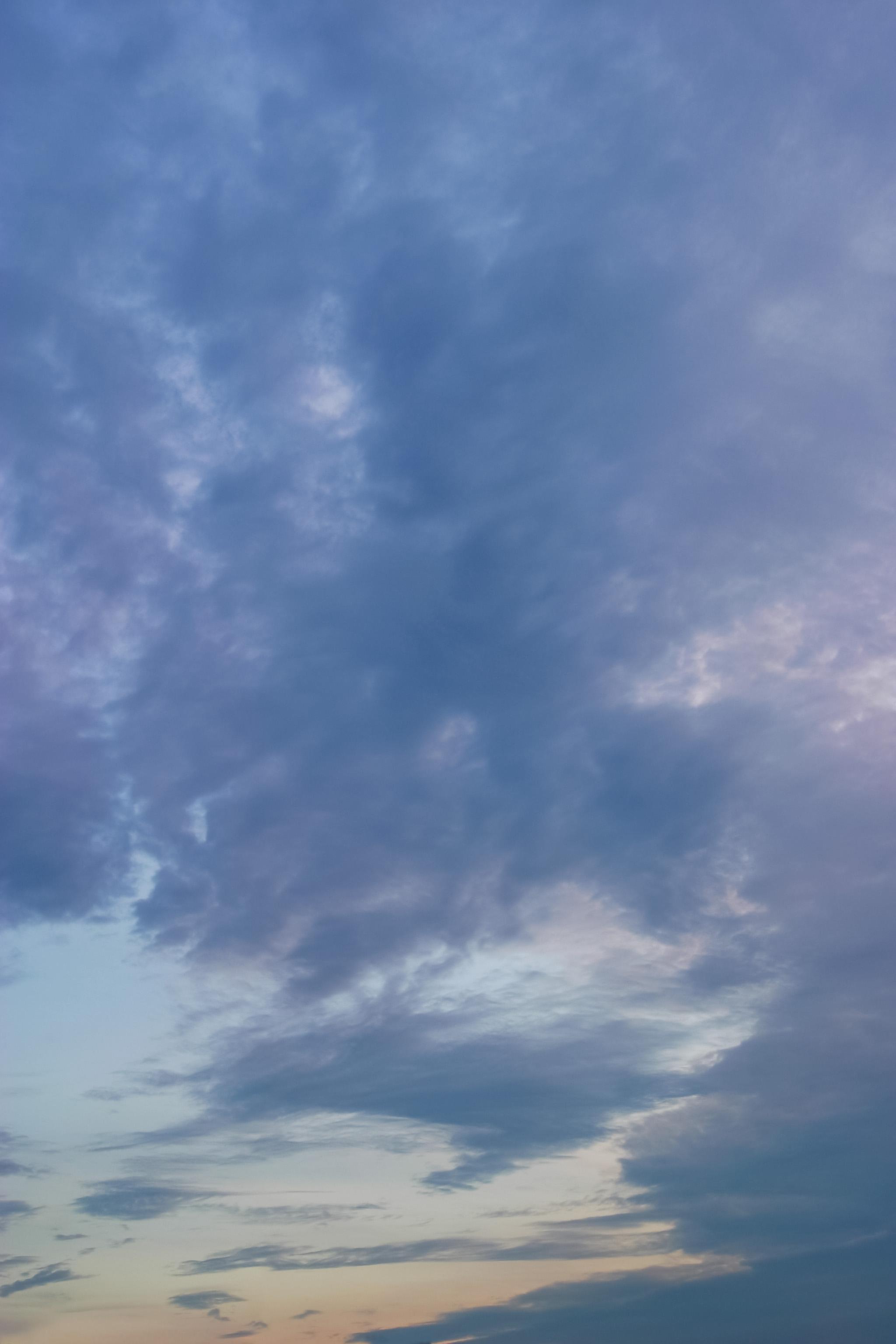 日没前の紫色 Free Photos L/RGB/JPEG/350dpi