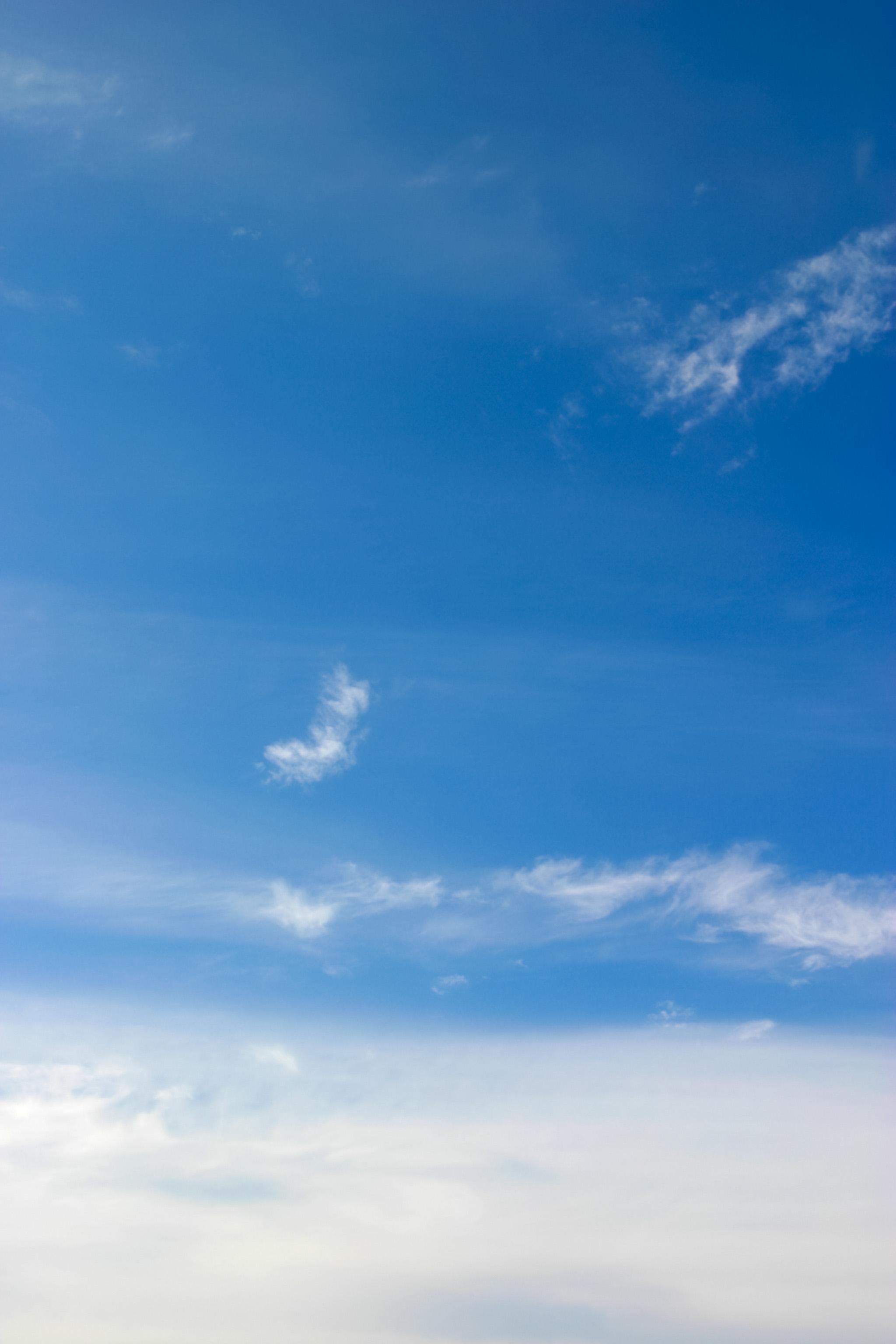 雲の上の澄み切った空 Free Photos L/RGB/JPEG/350dpi